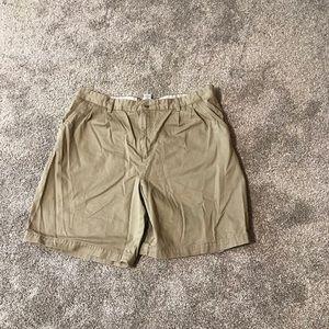 Covington mens tan shorts 38